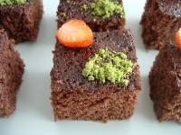 mikrodalgada kakaolu kek