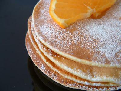 portakallı pankek