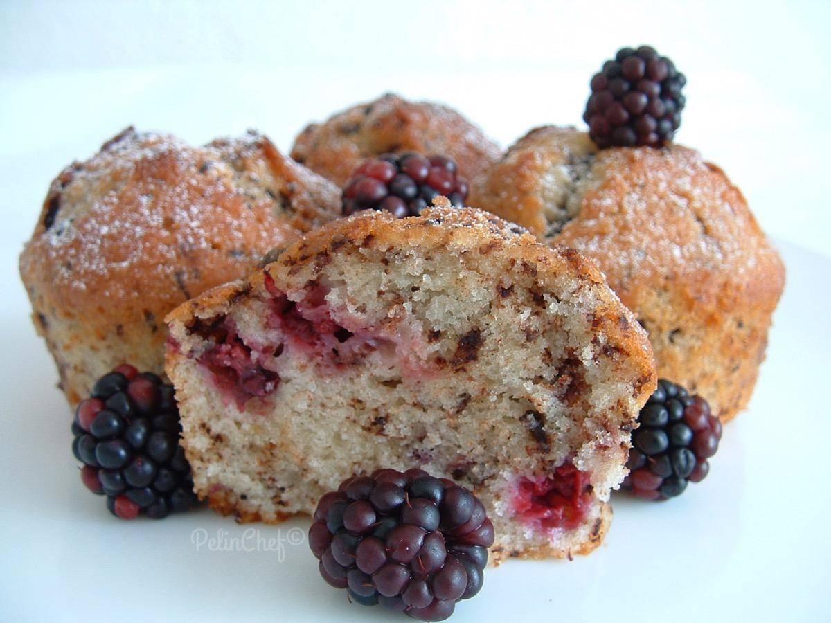 böğürtlenli-muffin