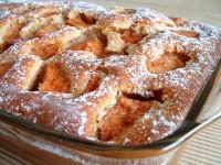 elmalı tepsi keki