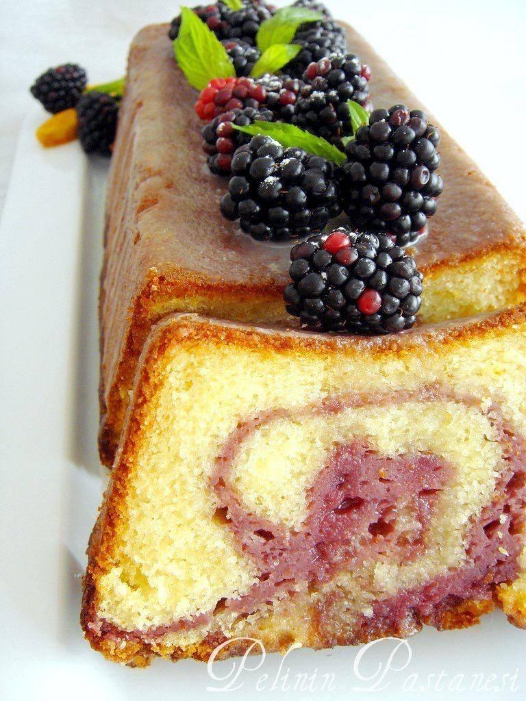 böğürtlenli-mermer-kek