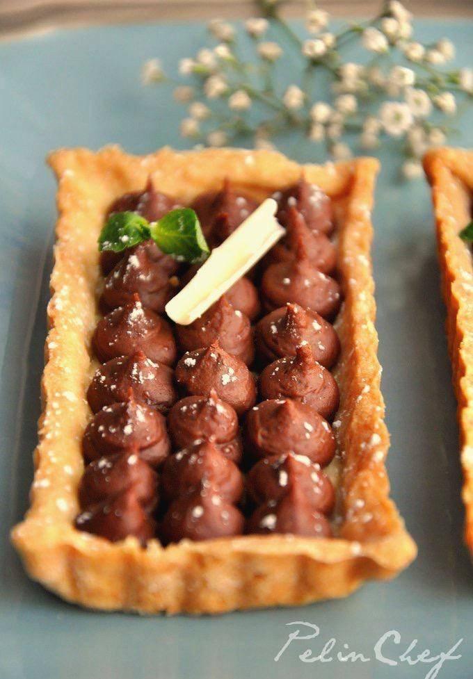 kestaneli-çikolatalı-tart1