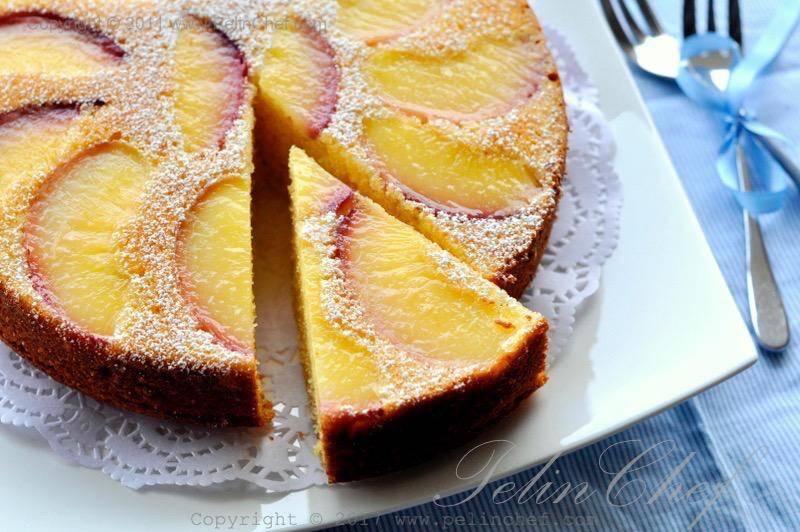 şeftalili-alt-üst-kek