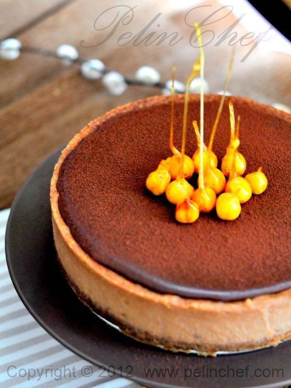Ispanaklı Çikolatalı Cheesecake