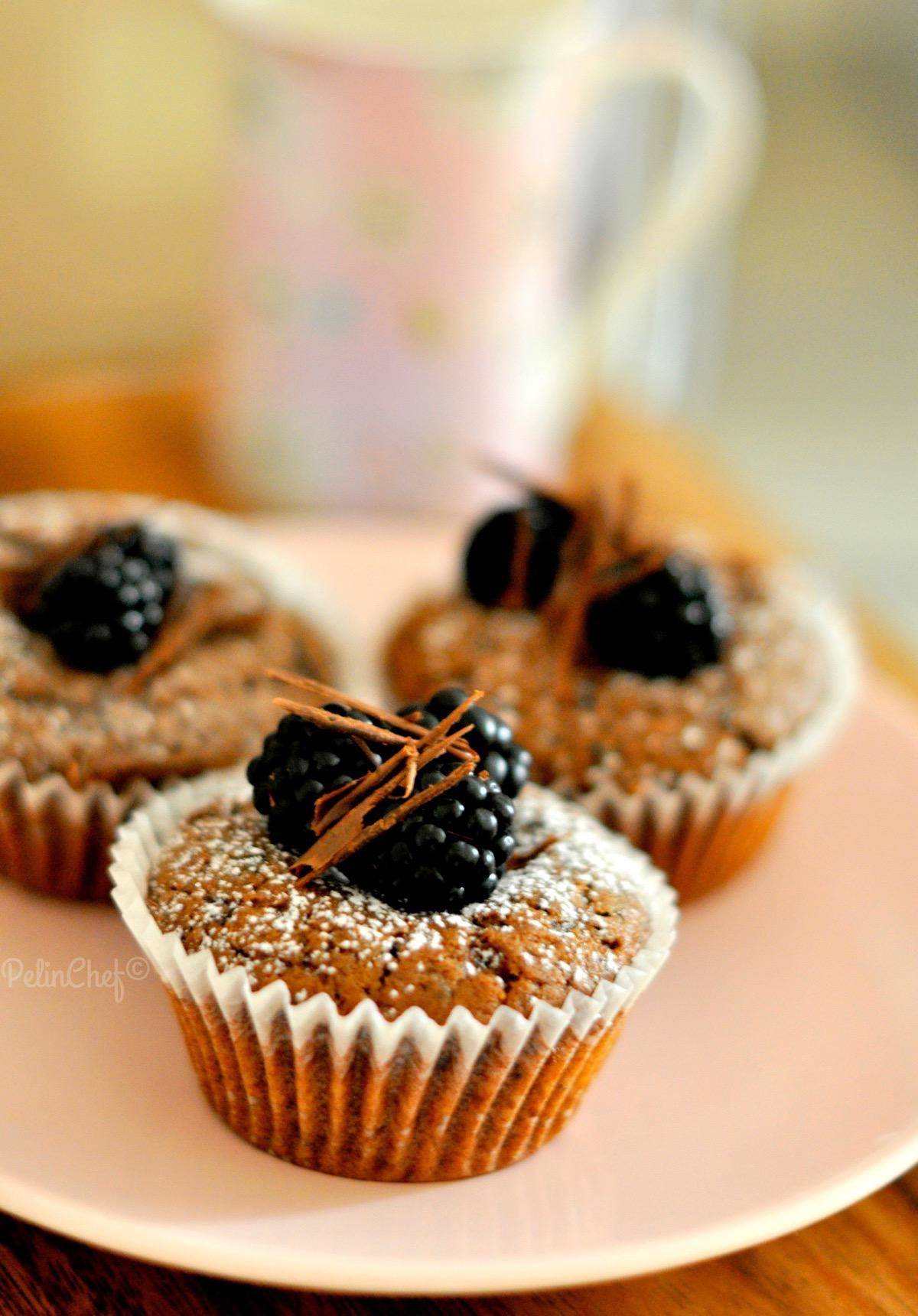 böğürtlenli-çikolatalı-muffin