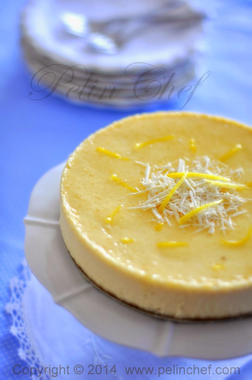 Beyaz Çikolatalı Limonlu Cheesecake