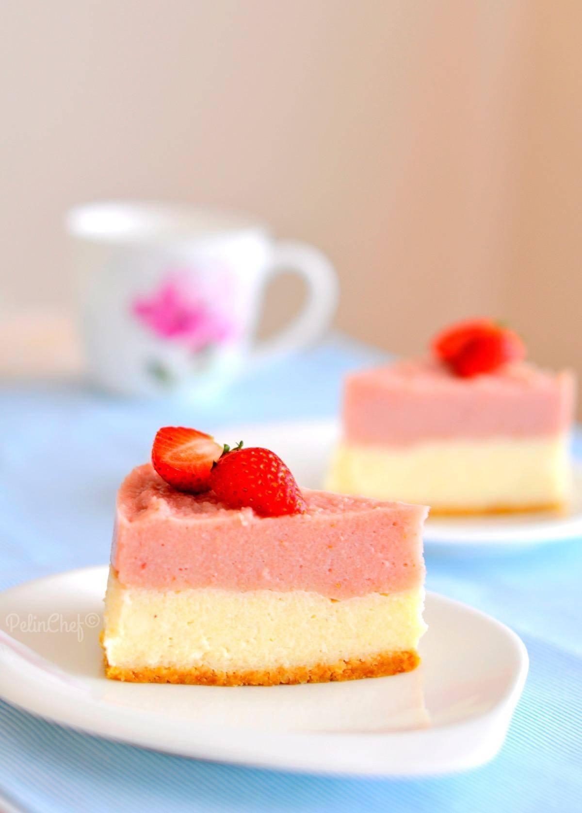 Çilekli Buzdolabı Pastası