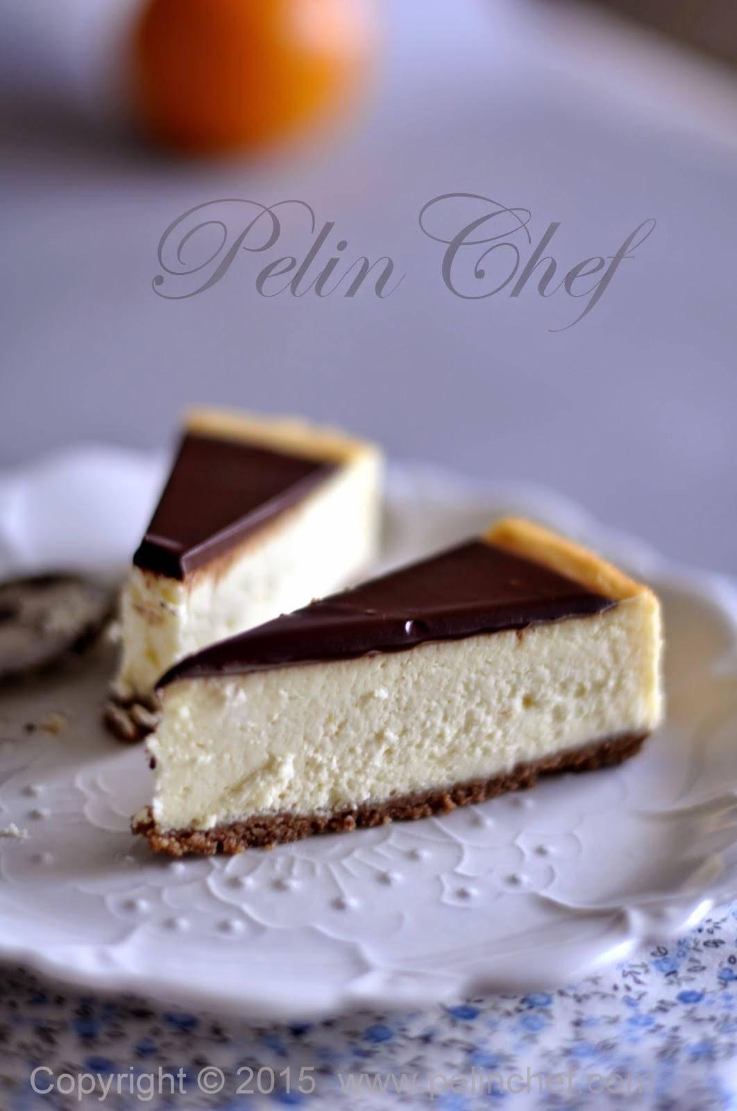 çikolata-Soslu-Portakallı-Cheesecake