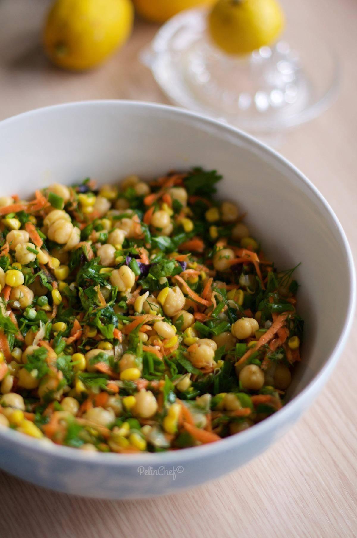 mısırlı nohut salatası