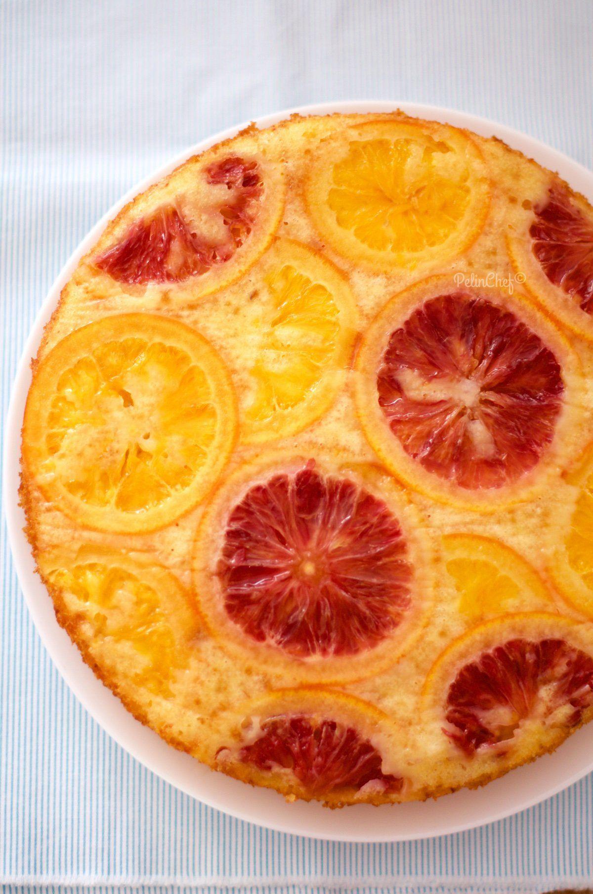 portakallı alt üst kek-2