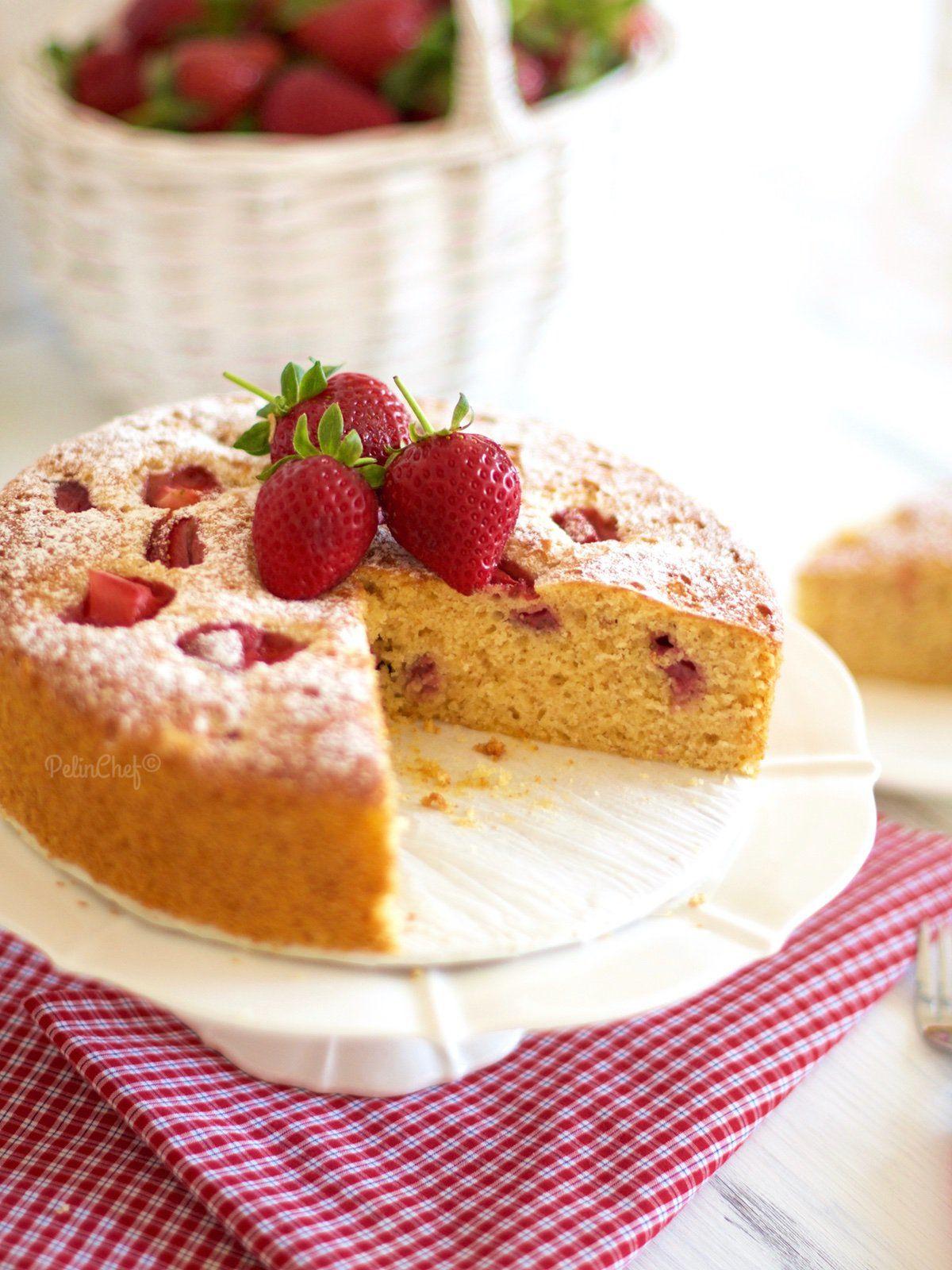 çilekli kek-2