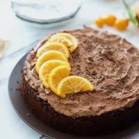 ikolata Kremalı Portakallı Kek1