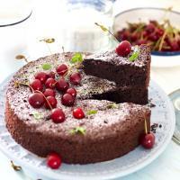 ikolatalı Vişneli Glutensiz Kek